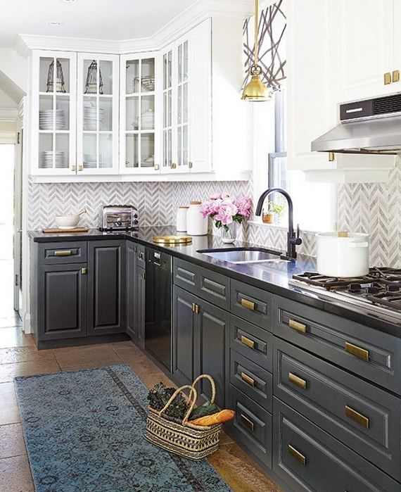 25 Best Ideas For Black Cabinets In Kitchen 18