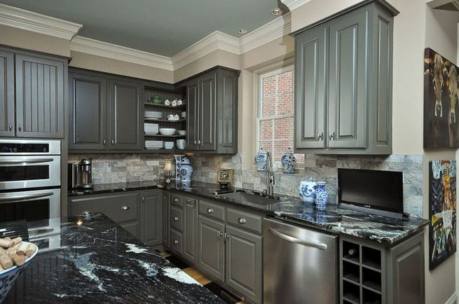 25 Best Ideas For Black Cabinets In Kitchen 20
