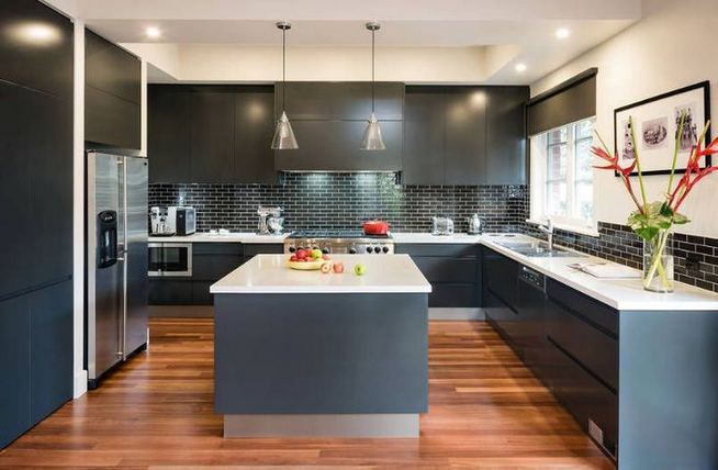 25 Best Ideas For Black Cabinets In Kitchen 39