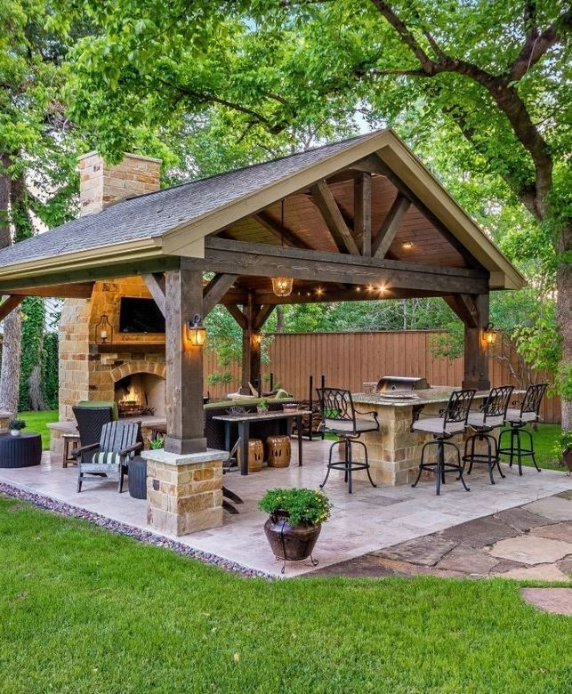 12 Fancy And Modern Outdoor Kitchen Design Ideas 09