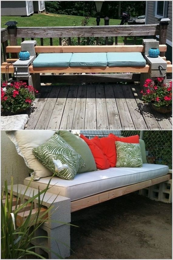 13 Creative Ways To Decorate Your Garden Home Using Cinder Blocks 13