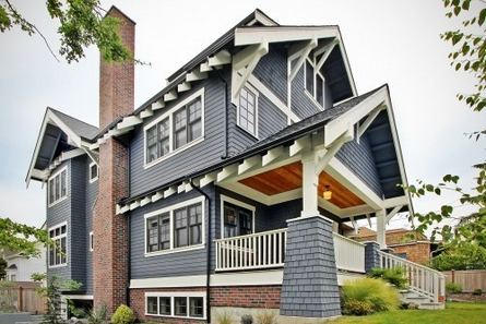 13 Fantastic Exterior Paint Colors Brown Brick Ideas 19