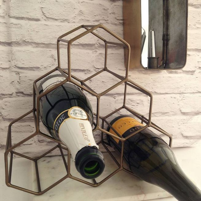 13 Stunning Industrial Wall Wine Rack Designs Ideas 02