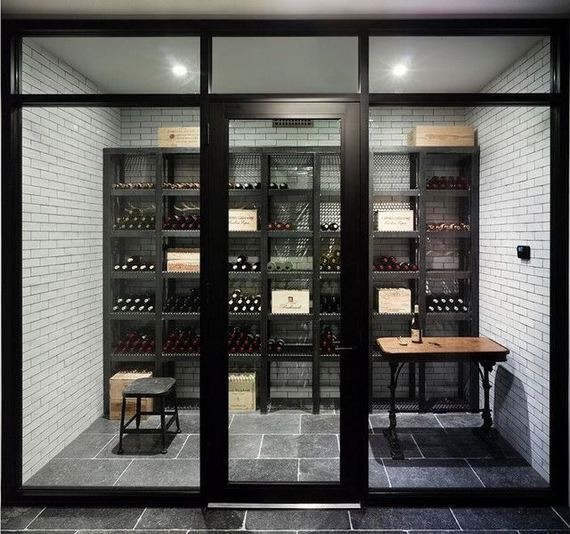 13 Stunning Industrial Wall Wine Rack Designs Ideas 25