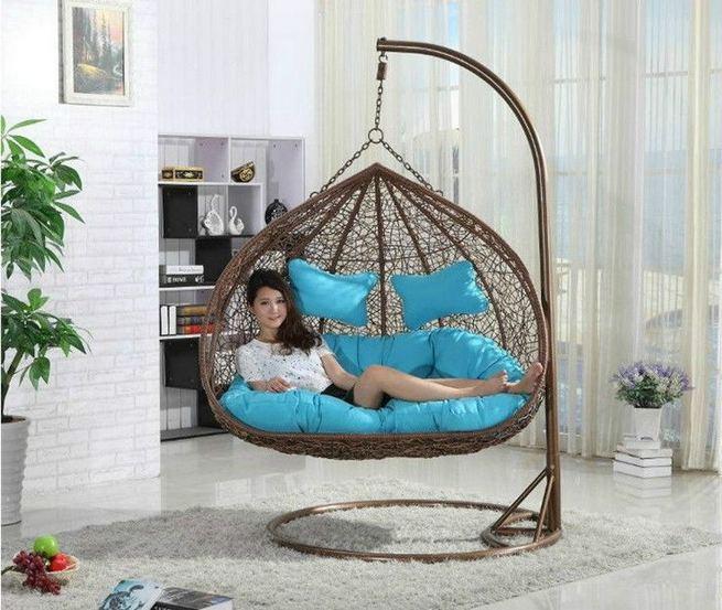 14 Cozy Swing Chairs Garden Ideas 35