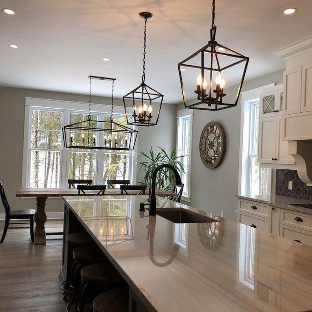 Farmhouse Kitchen Lighting Ideas: 14+ Modern Farmhouse Lighting Ideas