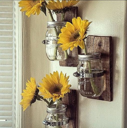 14 Unique Country Kitchen Decor Ideas By Using Mason Jars 17