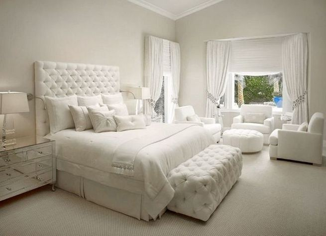 15 Fascinating White Bedroom Design Ideas 29