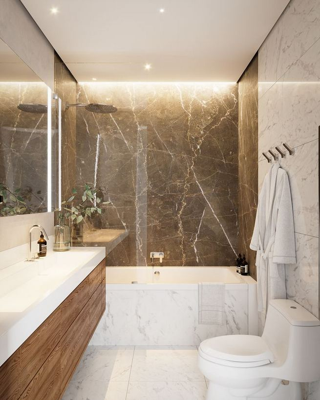 15 Inspiring Marble Bathroom Sink Designs For Your Luxury Home 32