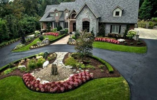 15 Popular Rock Pathway Design Ideas Enhance Beautiful Garden 01