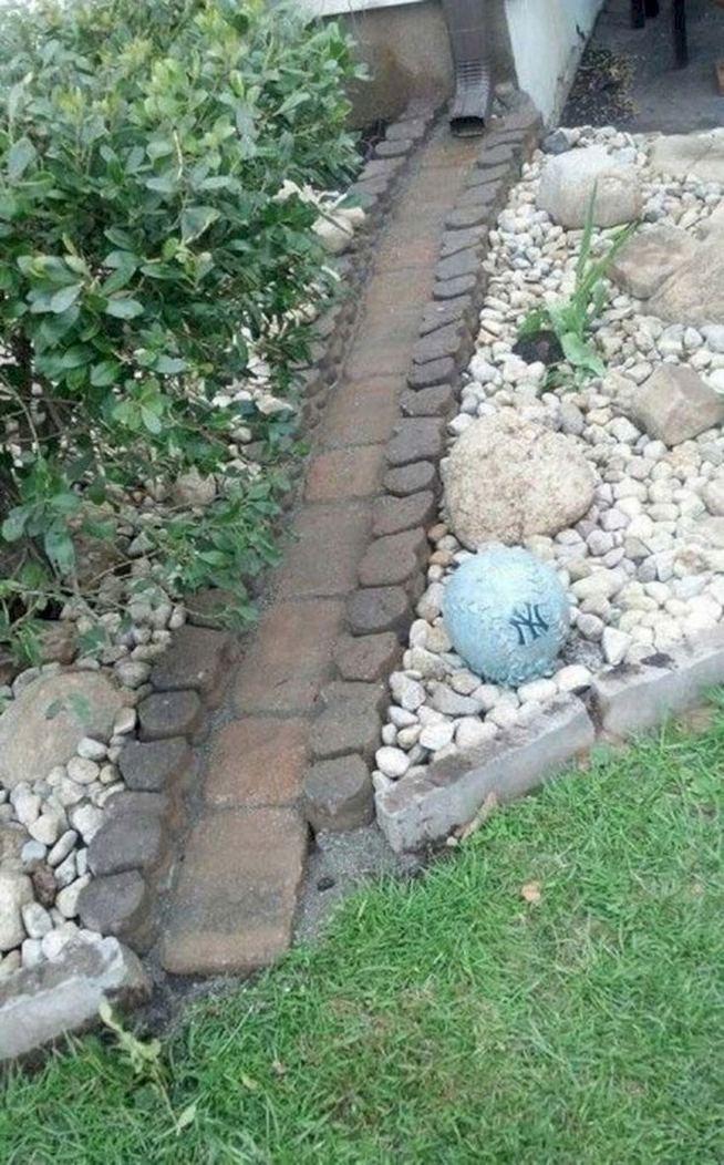 15 Popular Rock Pathway Design Ideas Enhance Beautiful Garden 20