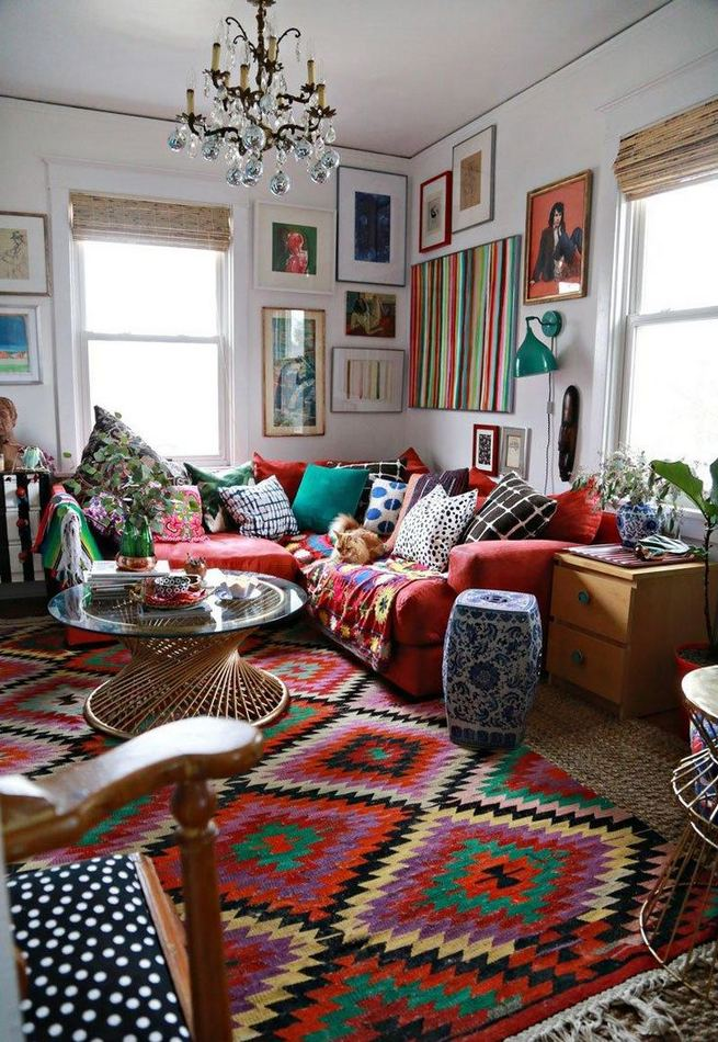 16 Awesome Colorful Moroccan Rugs Decor Ideas 03