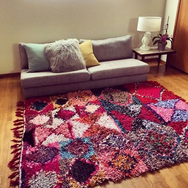 16 Awesome Colorful Moroccan Rugs Decor Ideas 15