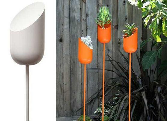 16 Creative DIY Tall Pots Planters Ideas For Modern Garden 01