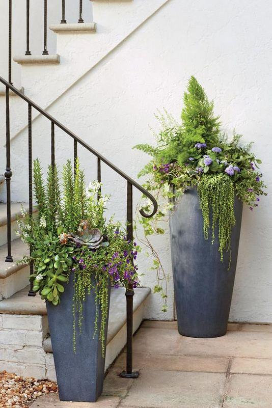 16 Creative DIY Tall Pots Planters Ideas For Modern Garden 17