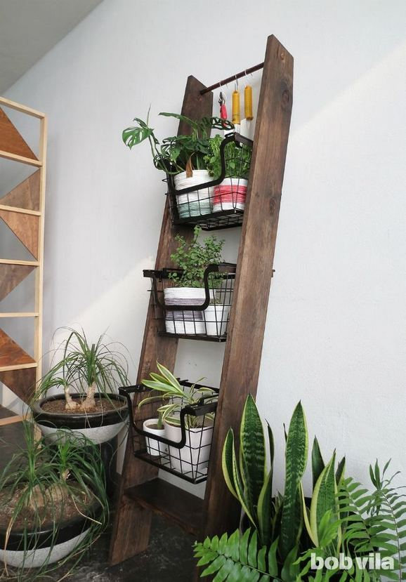 16 Creative DIY Tall Pots Planters Ideas For Modern Garden 22