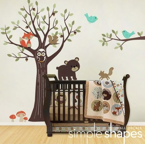 16 Popular Baby Boy Nursery Room With Animal Designs 34