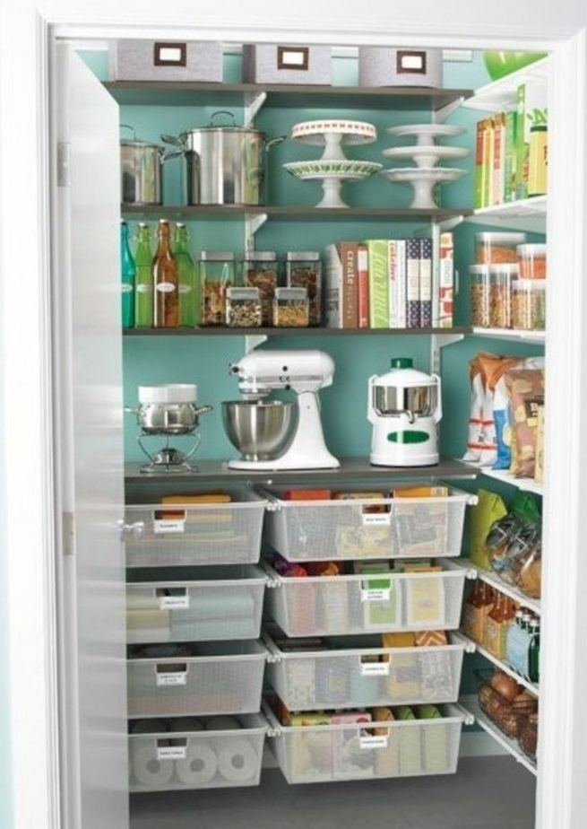 17 Adorable Space Saving Kitchen Pantry Ideas 39