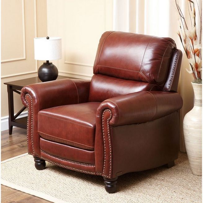 17 Attractive Brown Leather Living Room Furniture Ideas 01
