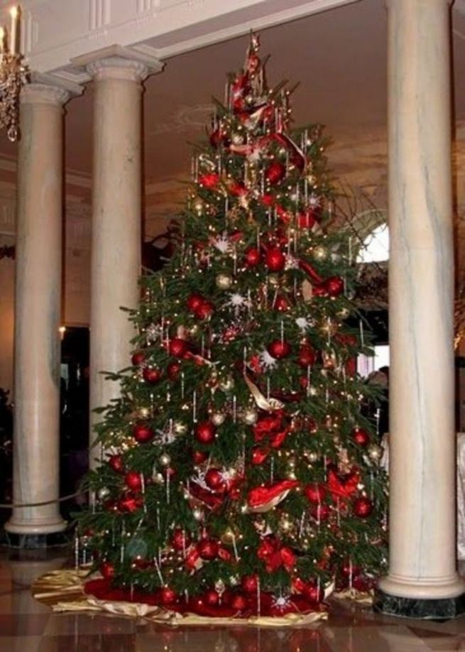 11 Pretty Ideas Christmas Tree Themes Home Decor Everyday 32