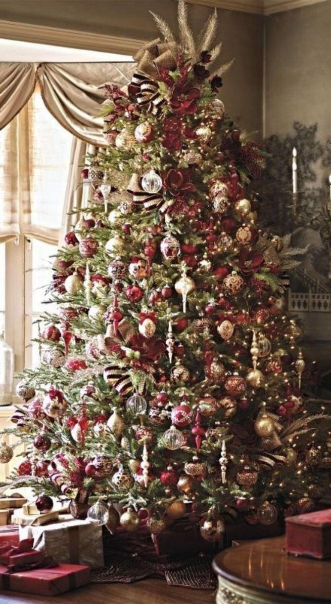 11 Pretty Ideas Christmas Tree Themes Home Decor Everyday 35