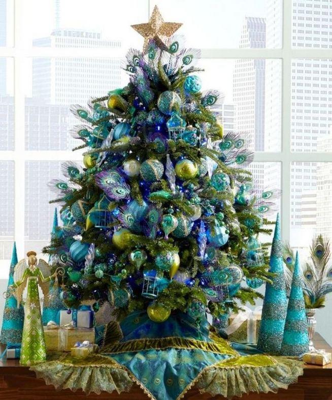 11 Pretty Ideas Christmas Tree Themes Home Decor Everyday 36