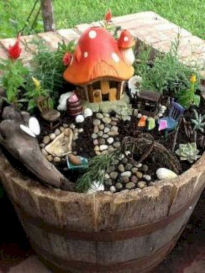 12 Enchanting Fairy Garden Best Ideas 09