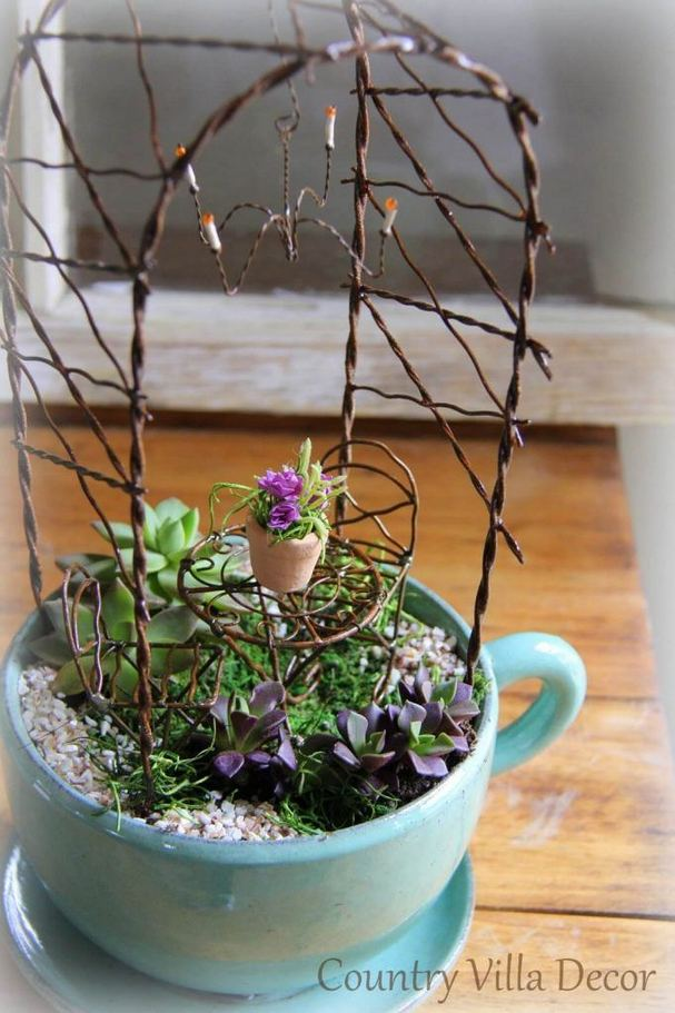 12 Enchanting Fairy Garden Best Ideas 19