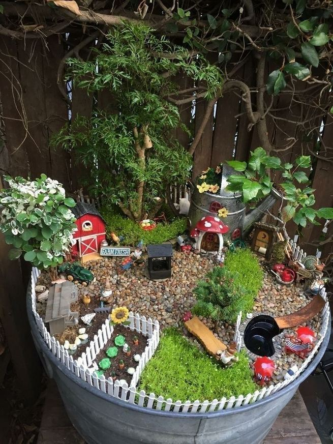 12 Enchanting Fairy Garden Best Ideas 21