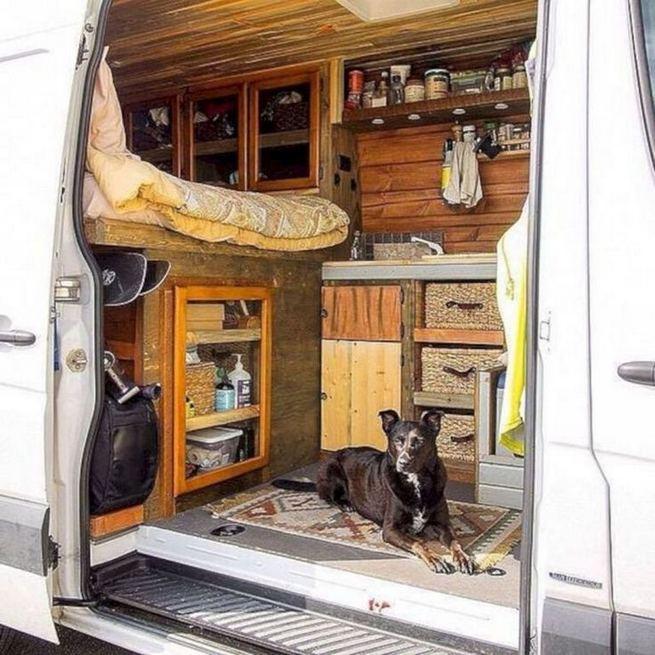 14 Best RV Camper Van Interior Decorating Ideas 25