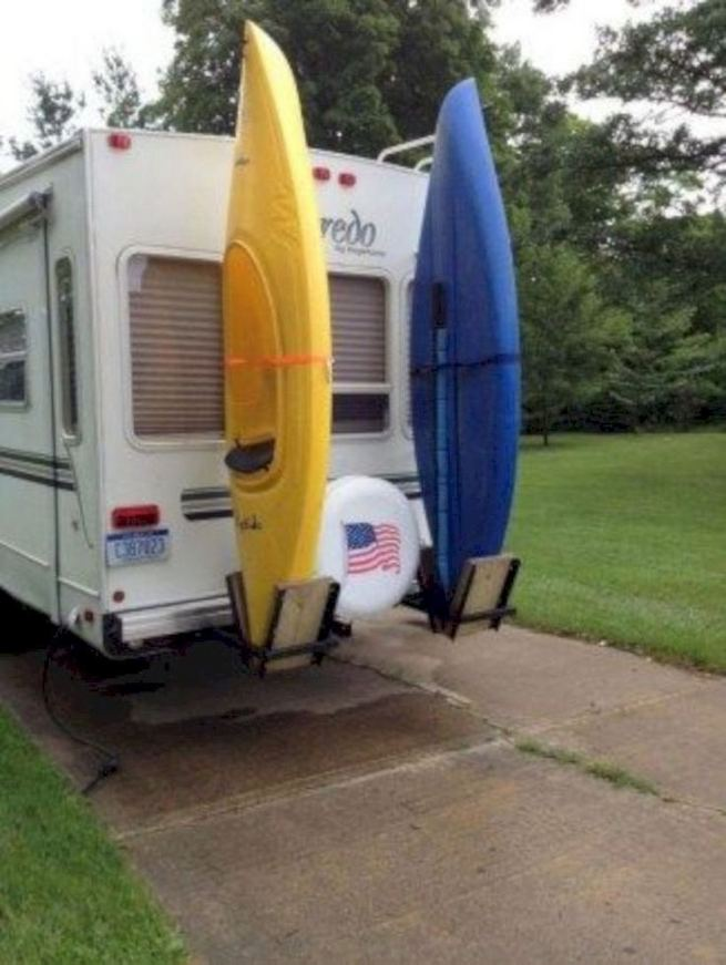 14 Brilliant Diy Travel Trailers Camper Storage Organization Ideas 08