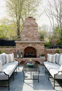 15 Amazing Outdoor Fireplace Design Ever 09