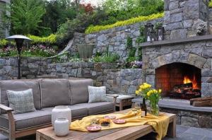 15 Amazing Outdoor Fireplace Design Ever 11