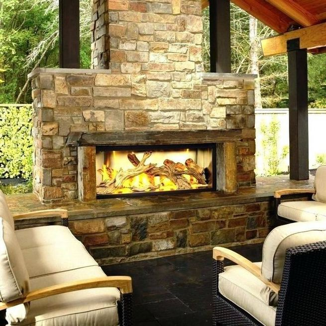 15 Amazing Outdoor Fireplace Design Ever 22