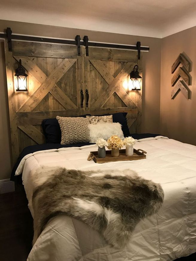 16 Comfy Farmhouse Bedroom Decor Ideas 16