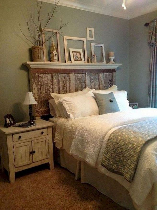 16 Comfy Farmhouse Bedroom Decor Ideas 19