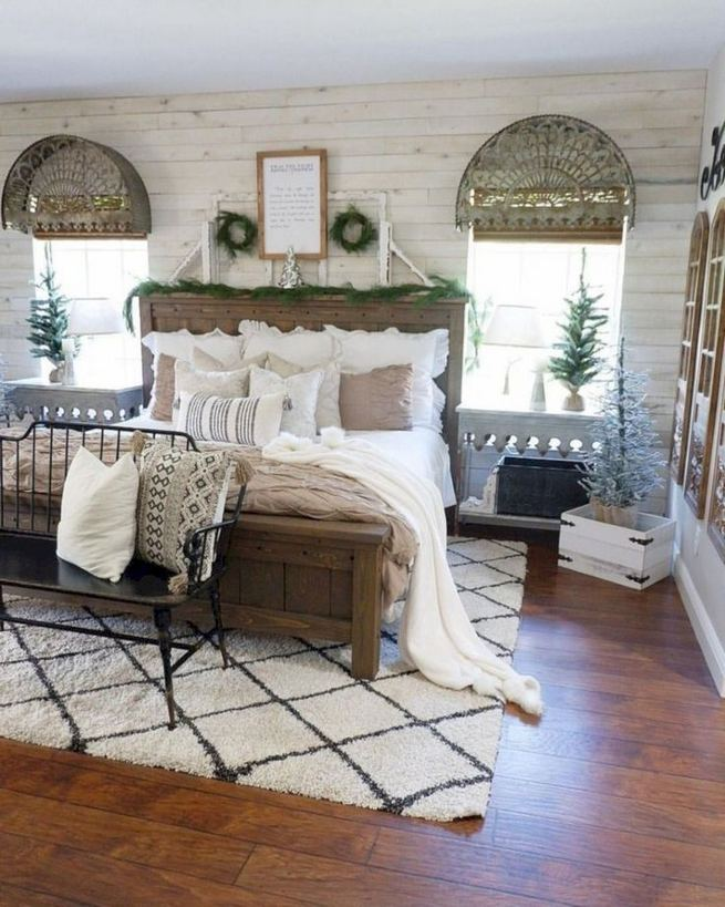 16 Comfy Farmhouse Bedroom Decor Ideas 26