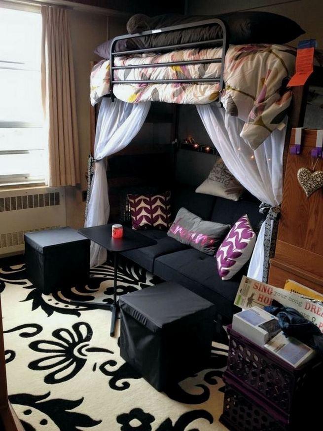 16 Creative Dorm Room Storage Organization Ideas On A Budget 18