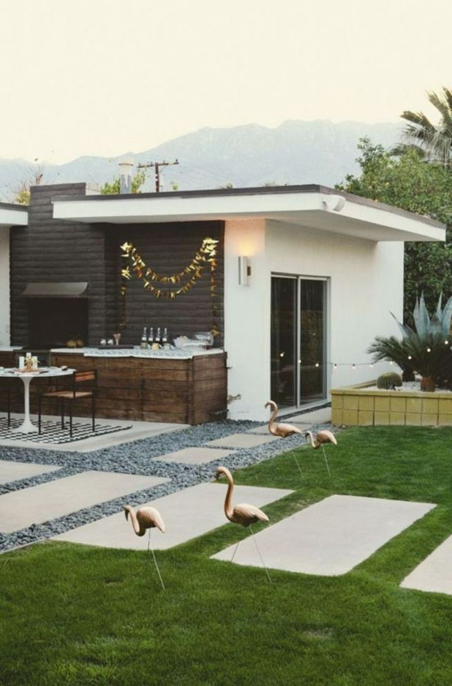 16 Most Beautiful Mid Century Modern Backyard Design Ideas 16