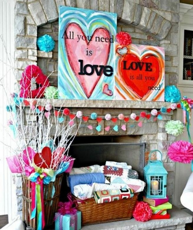 16 Wonderful DIY Valentine Decorations Ideas 01