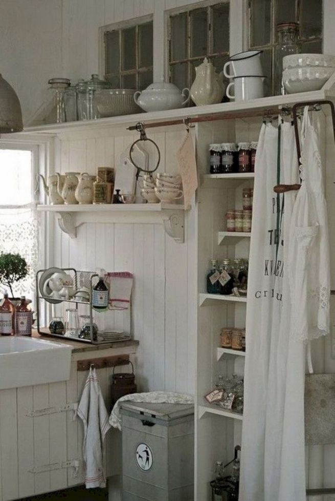 17 Inspiring Country Style Cottage Kitchen Cabinets Ideas 21
