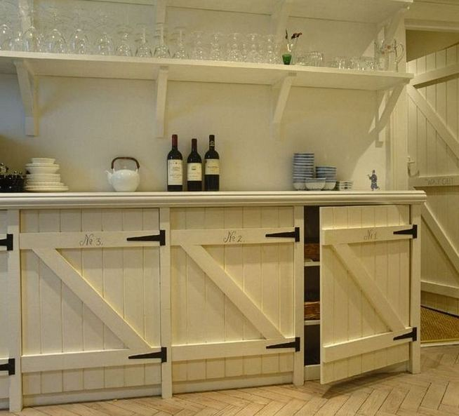 17 Inspiring Country Style Cottage Kitchen Cabinets Ideas 26