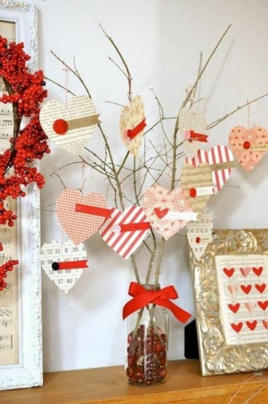 17 Inspiring Rustic Valentines Decor Ideas On A Budget 08
