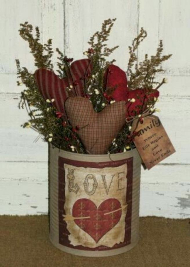 17 Inspiring Rustic Valentines Decor Ideas On A Budget 23