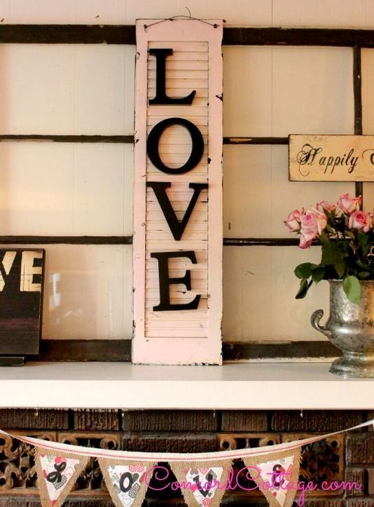 17 Inspiring Rustic Valentines Decor Ideas On A Budget 26