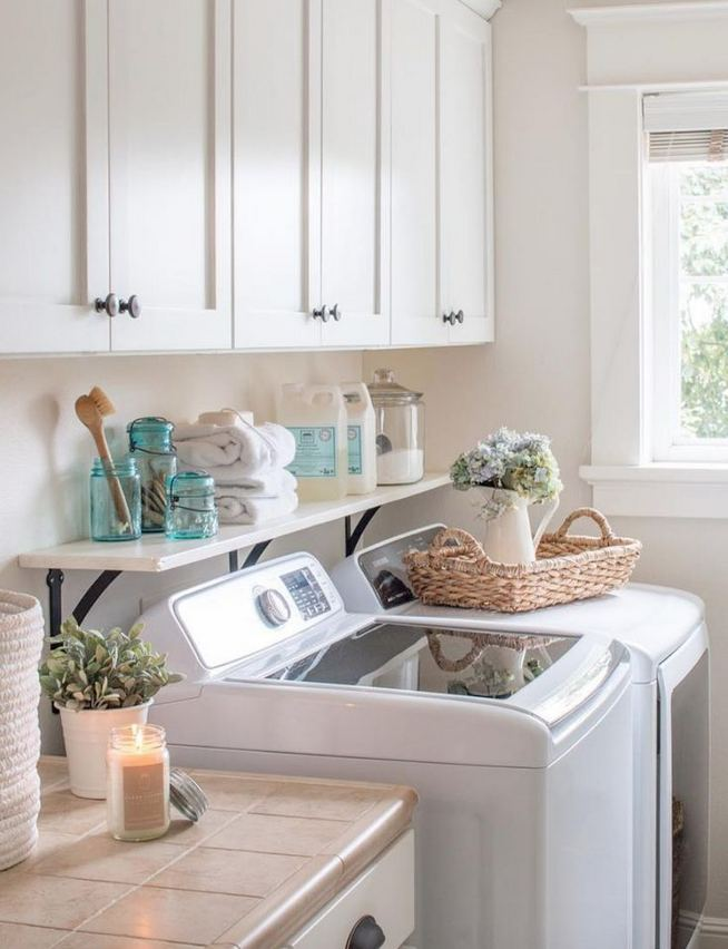 17 Top Cozy Small Laundry Room Design Ideas 01