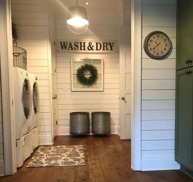 17 Top Cozy Small Laundry Room Design Ideas 17