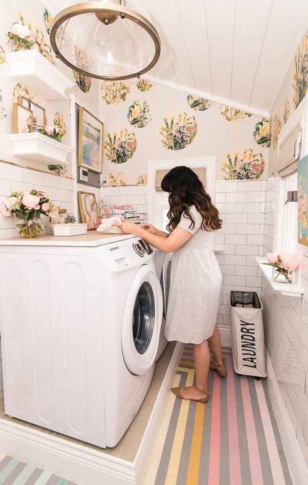 17 Top Cozy Small Laundry Room Design Ideas 20