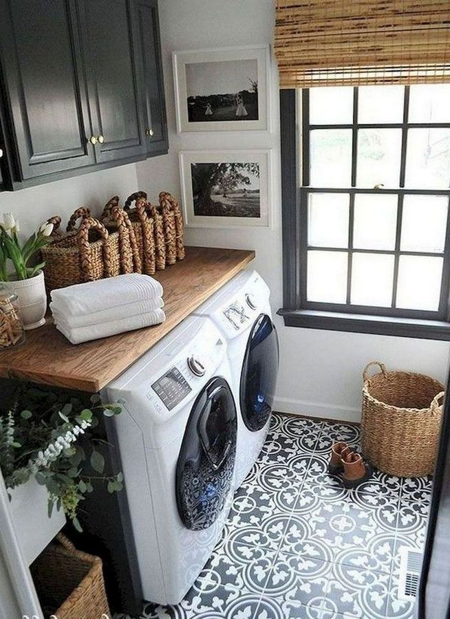 17 Top Cozy Small Laundry Room Design Ideas 30