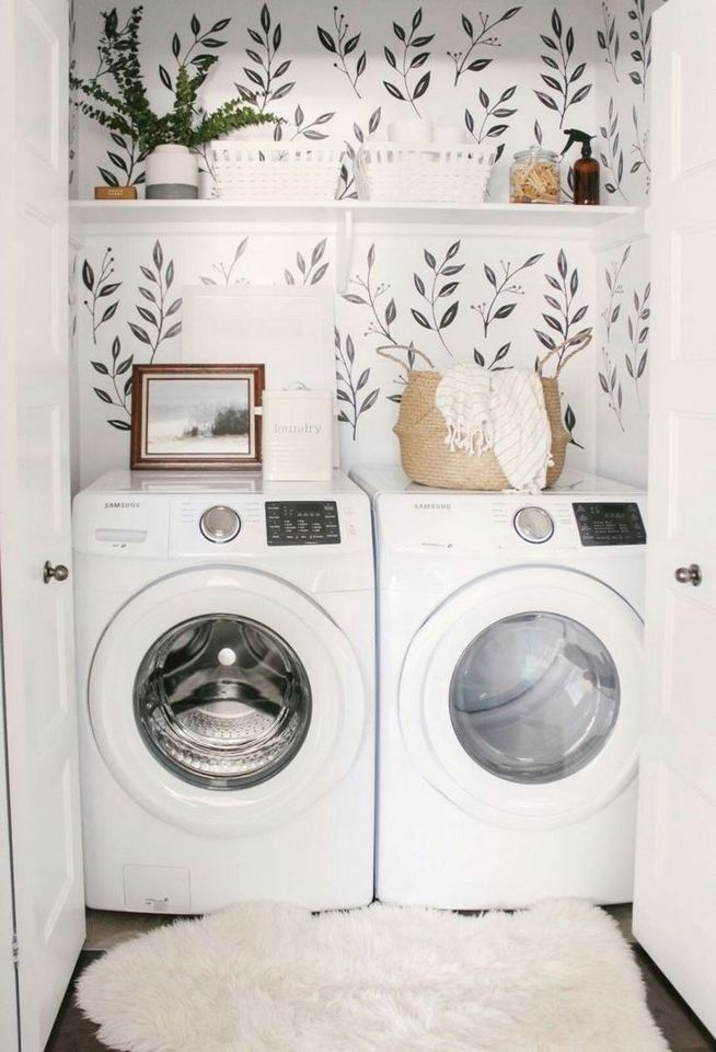 17 Top Cozy Small Laundry Room Design Ideas 34